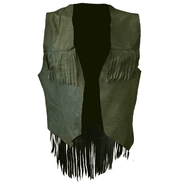 Hand Crafted Custom Leather Vests