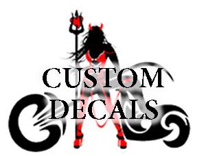 Custom Cut Vinyl Graphics