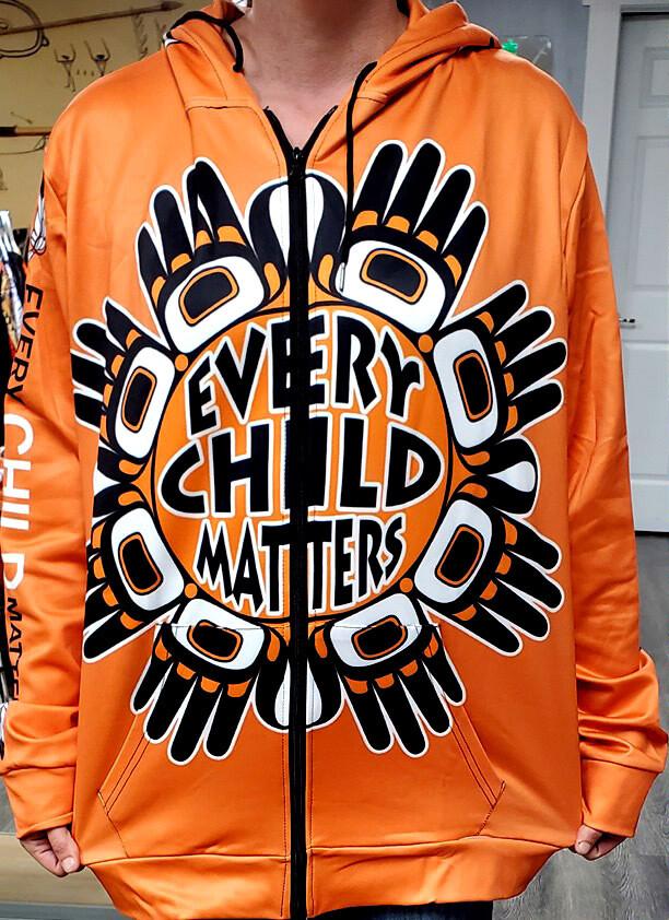 Every Child Matters Zippered Hoodies