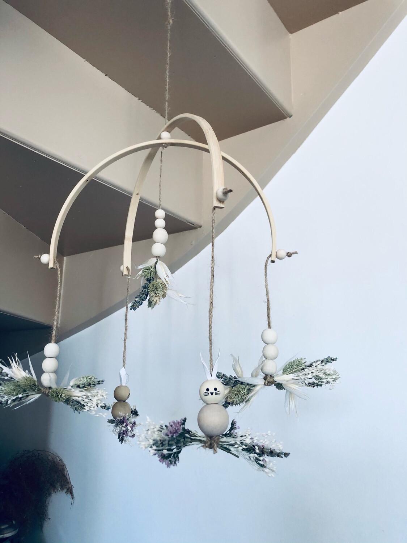 Mobile décoratif«éveil à la nature»