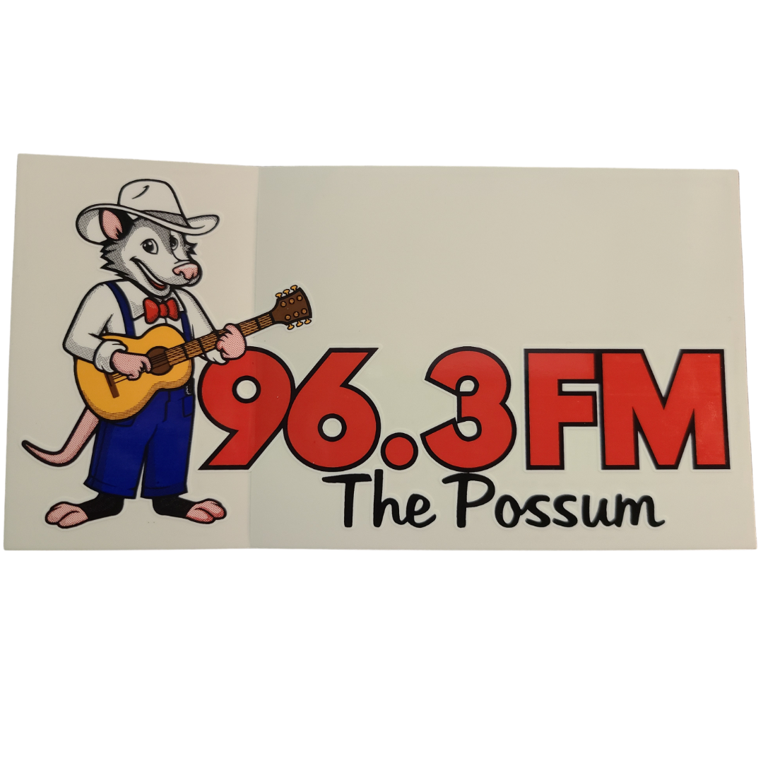 Possum Sticker