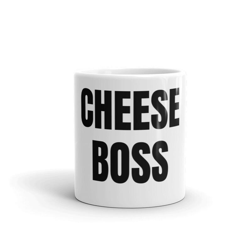 'CHEESE BOSS' Mug