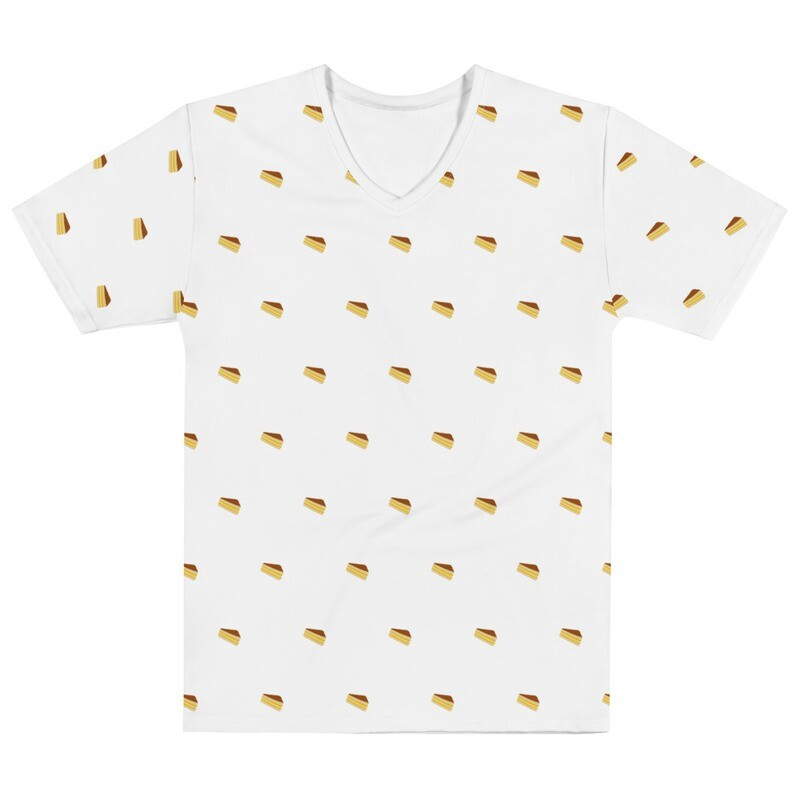 Triple Decker Grilled Cheese - V Neck