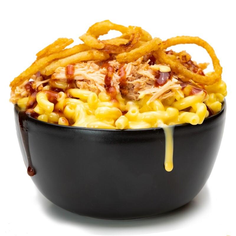 BBQ Shredded Chicken 'n' Tangler Mac & Cheese