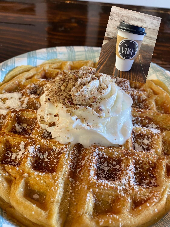 Coffee + Waffle
