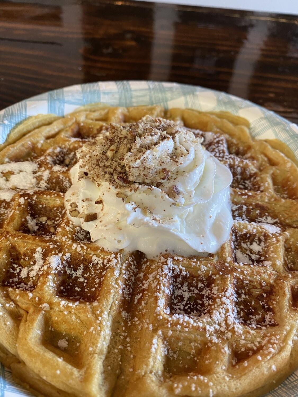 Waffle + Tea