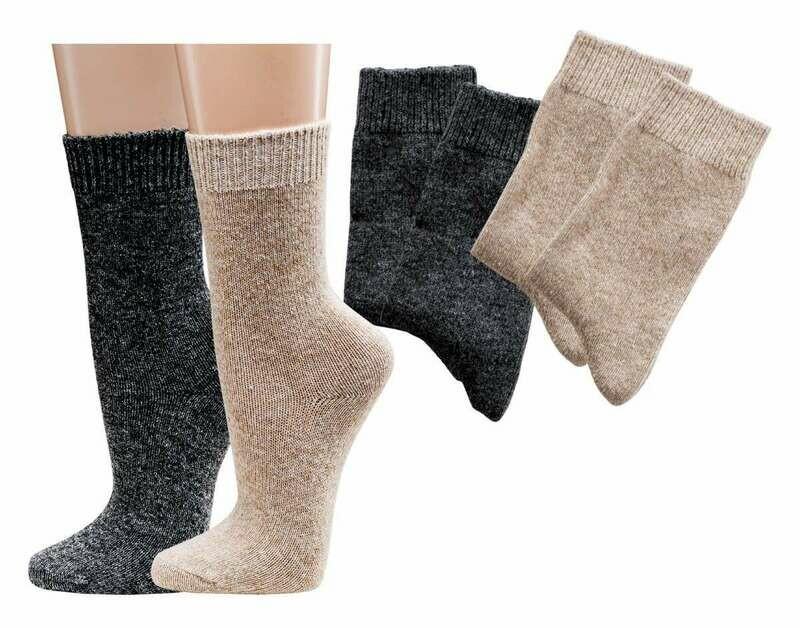 Socken mit Kaschmirwolle