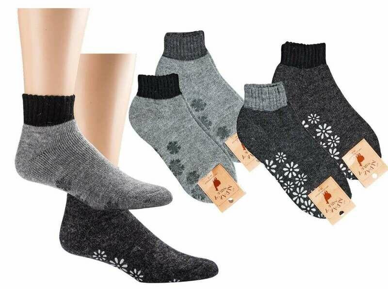 """Socken """"Stopper"""" mit Alpakawolle"""