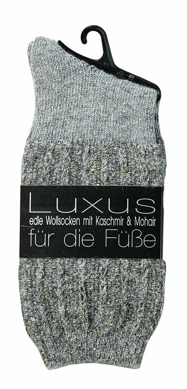 """Socken """"Glamour"""" mit Kaschmir und Mohair"""