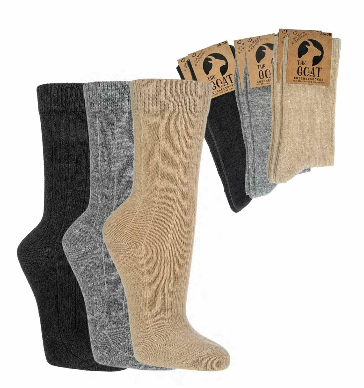 "Socken ""Merino"" mit Kaschmir"