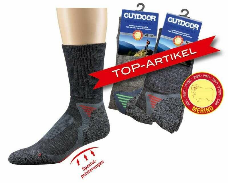 Outdoor Trekking Socken