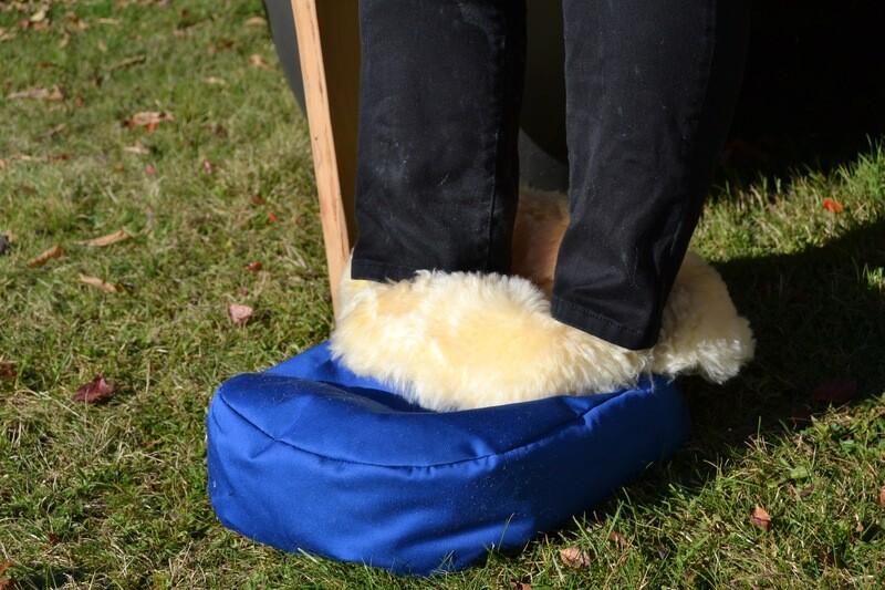 Lammfell Fußwärmer