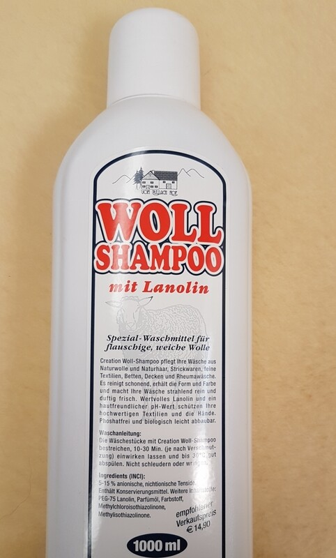 Woll-Shampoo mit Lanolin