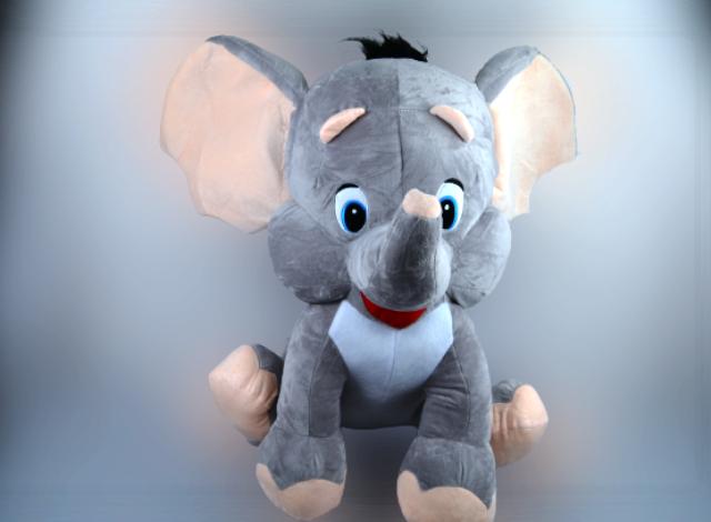 """Elefanten-Baby, """"Grey"""""""
