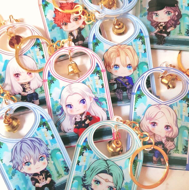 FE3H S Support Acrylic Keychain