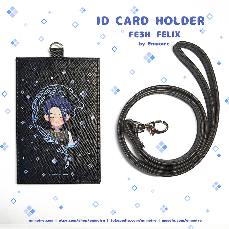 FE3H ID CARD HOLDER+LANYARD