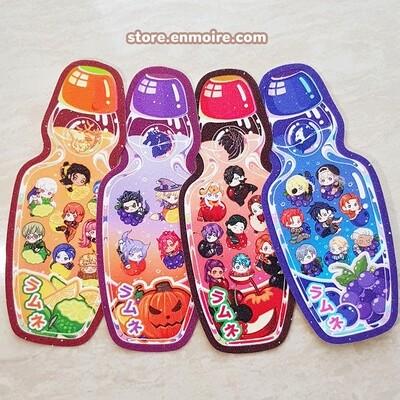 FE3H Glitter Ramune Sticker Set