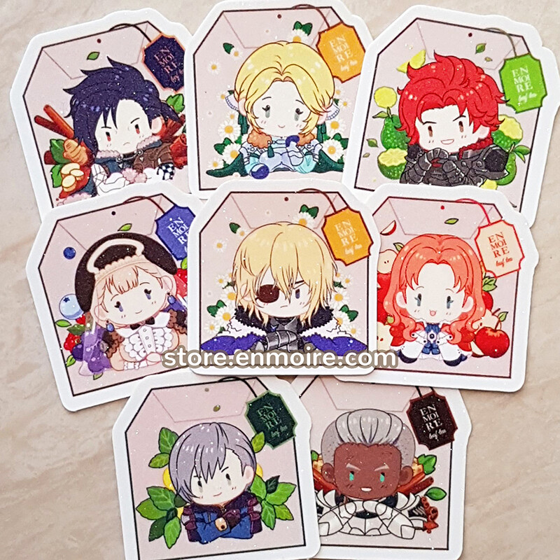 FE3H Tiny Glitter Sticker Set