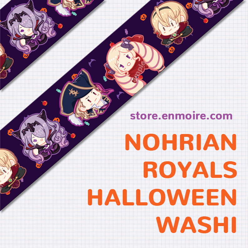 (LTD) Nohrian Royals Halloween Washi