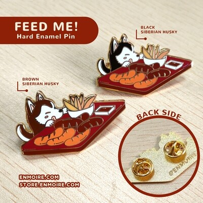 Husky Enamel Pin