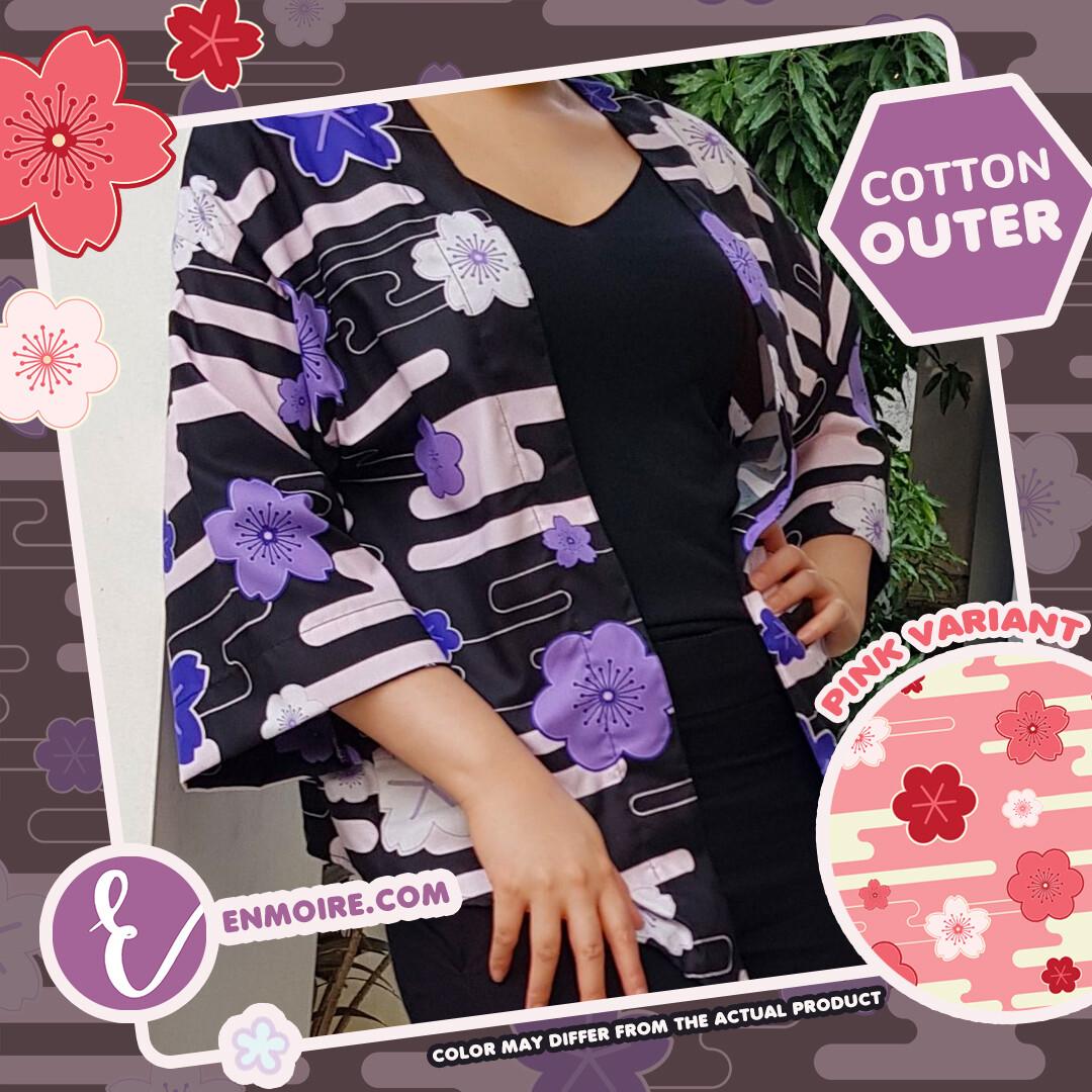 (PO) SAKURA | Cotton Outer All Size