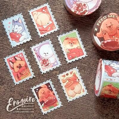 Feed Me! Holo Stamp Washi
