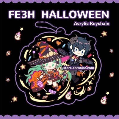 FE3H Halloween Sothis and Byleth Acrylic Keychain