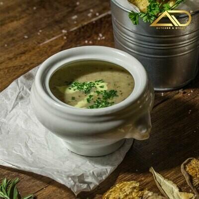 Mushroom Soup with Truffle