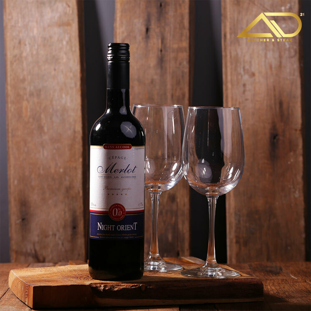Night Orient Merlot - Red (Alcohol Free) 750ml