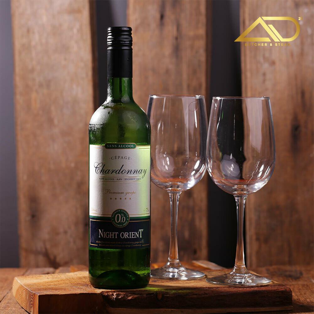 Night Orient Chardonnay - White (Alcohol Free) 750ml