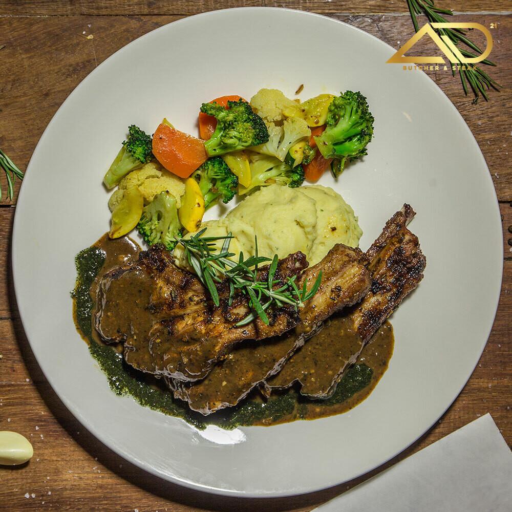 NZ Bone in Lamb Rack French Cut