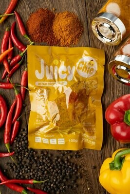 Juicy Chic 即食無激素雞胸 - 咖哩味 Instant Hormone Free Chicken Breast - Masala Curry 100g