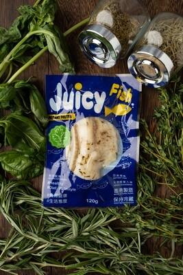 Juicy Fish 即食無激素魚柳 - 香草味 Instant Hormone Free Fish Fillet - Original 120g