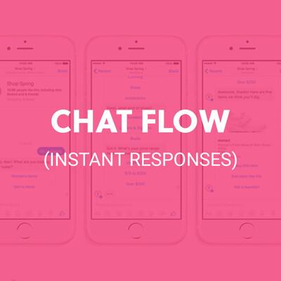 CHAT FLOW (INSTANT RESPONSES)