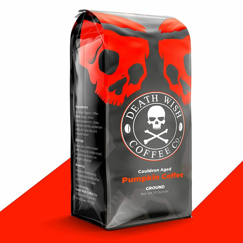 Deathwish Pumpkin Spice Coffee