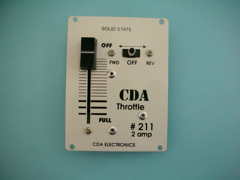#211 2 AMP Panel Mount Throttle