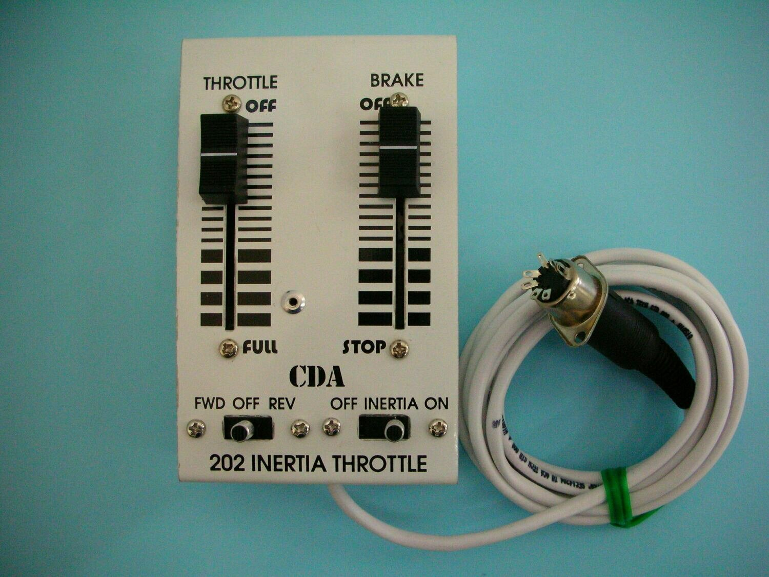 #202 Inertia Hand Held Throttle