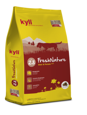 FreshNature Nr. 23 Deer & Potato adult 22 / 12 - 15kg
