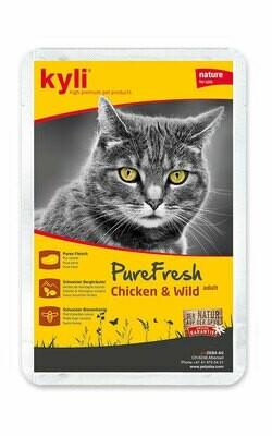 Pure Fresh Chicken & Wild/Lamb/Turkey adult (12 x 85g)