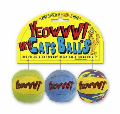 Yeowww My Cat Balls 3 Pack
