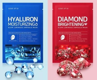 Some By Mi | Diamond & Hyaluron Ampoule Mask 2-Piece SET