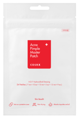 COSRX | Acne Pimple Master Patch ADF Hydrocolloid Dressing