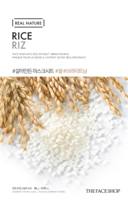 THE FACE SHOP | Real Nature Rice Face Mask