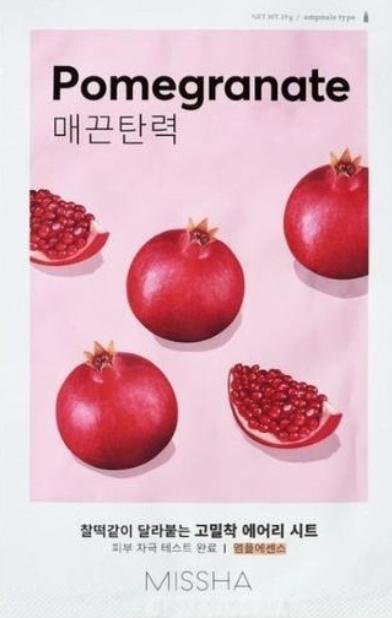 MISSHA   Airy Fit Sheet Mask - Pomegranate