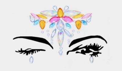 Face Decal Sticker  - Elena