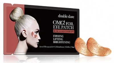 double dare | OMG! Foil Eye Patch Rose Gold Therapy