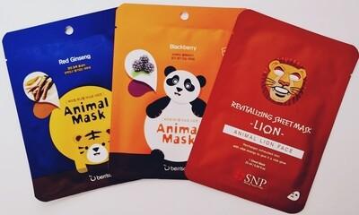 ANIMAL Print Mask Bundle (3 ct)