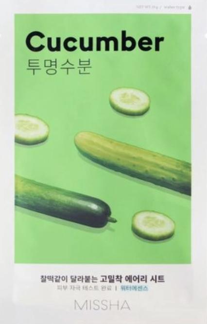 MISSHA | Airy Fit Sheet Mask - Cucumber