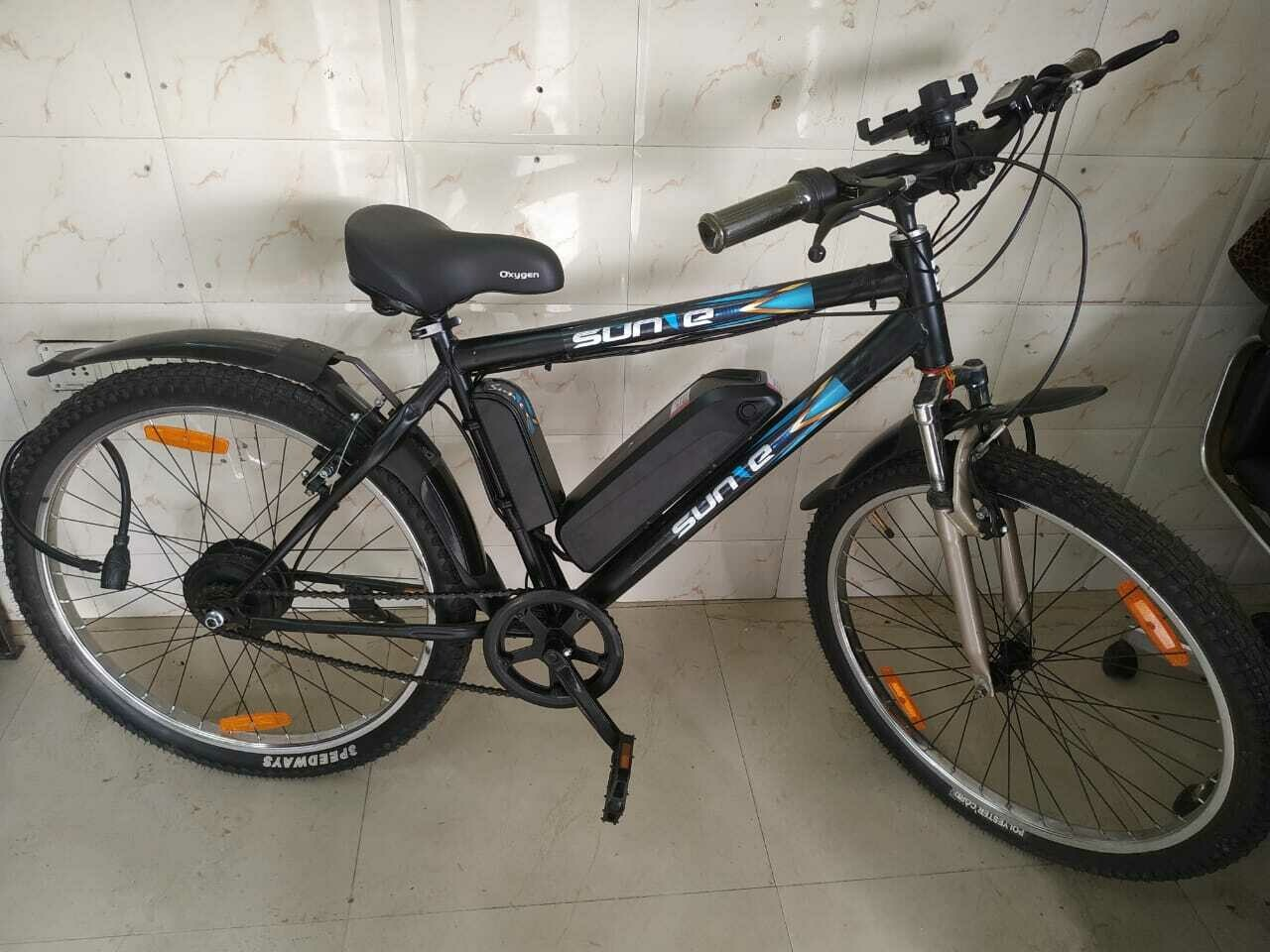 SUN-E (GEN-1 Electric Bicycle, IP65-WATERPROOF)
