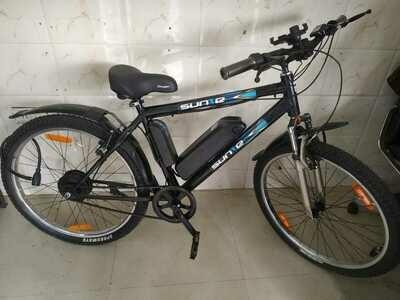 SUN-E (GEN-1 Electric Bicycle, IP65-WATERPROOF)